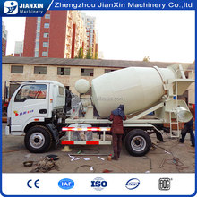 high efficiency low price concrete mixer truck