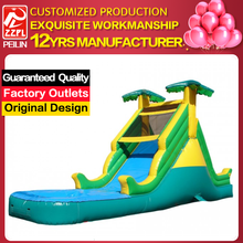 Summer Fun Cheap Inflatable Water Slide Clearance, Water Trampolines SM-162