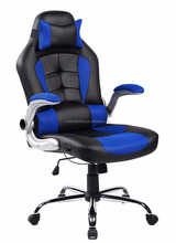 Luxury Racing Car style executive chair with PU leather swivel rotation function