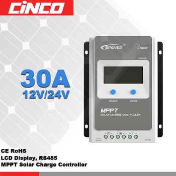 Tracer3210A MPPT hybrid solar charge controller,30A12V/24 Automatic switch connect solar panel battery