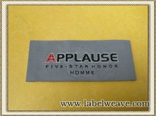 brand name woven garment label