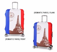 Wholesale Custom Pattern Printing Fabric Luggage Cover