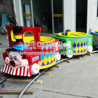 Funy indoor rides mini electric train for kids