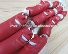 PVC advertising custom inflatable sausage plastic sausage <strong>toy</strong>
