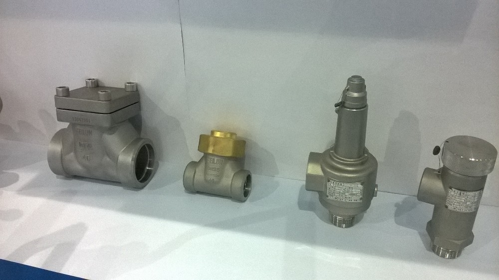 DAH-25, DN10,15,25 SS304 feilun Cryogenic quick pressure release valve for liquid gas tank