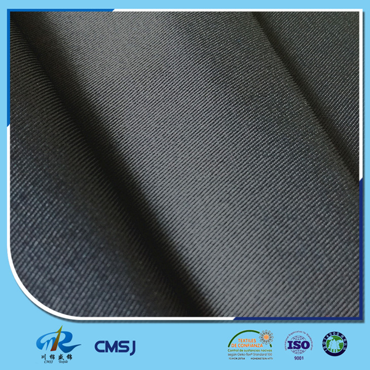 65% Polyester 35% Cotton solid dyed twill on 120*60/20*16 fabric