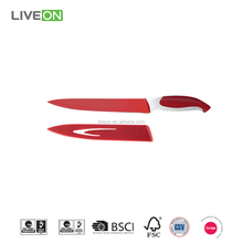 Stainless Steel 8 inch Non Stick Slicing knives with PP Sheath