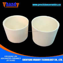 VHANDY high purity zirconium oxide shock resistance melting furnace crucible