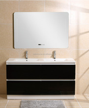 Newest Wall Mounted MDF veried sizes Bathroom Cabinet, MDF bathroom vanity, LED mirror bathroom vanity (XS-1040)