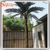 ST-DP15 artificial date palm tree plastic tree steel inside date palm fake tree