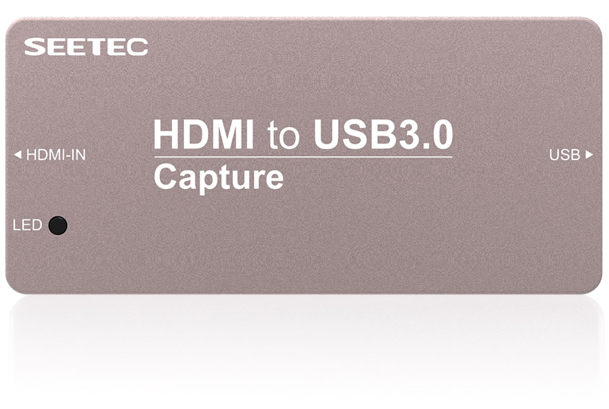 SEETEC video streaming metal case mini signal converter HDMI to USB2.0 capture