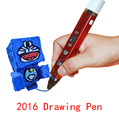 2016 New arrival 3D drawing Pen with usb cable christmas gift