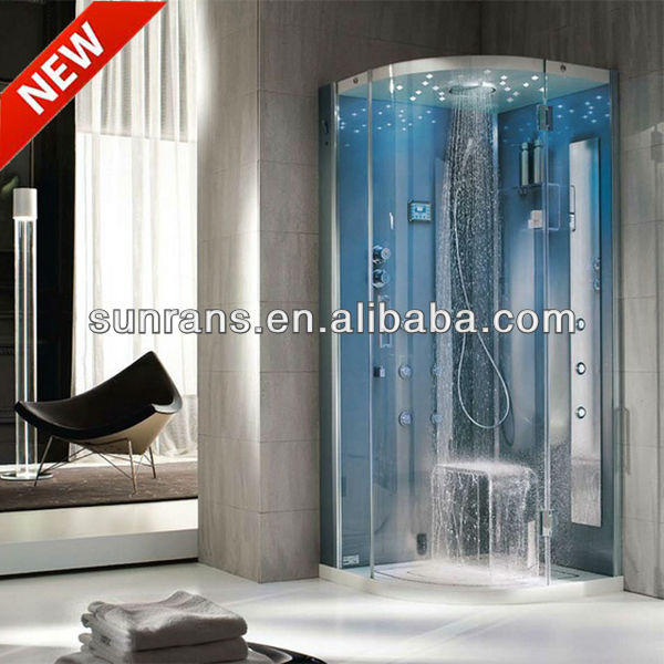 Deluxe new fashion bathroom shower enclosure with seat