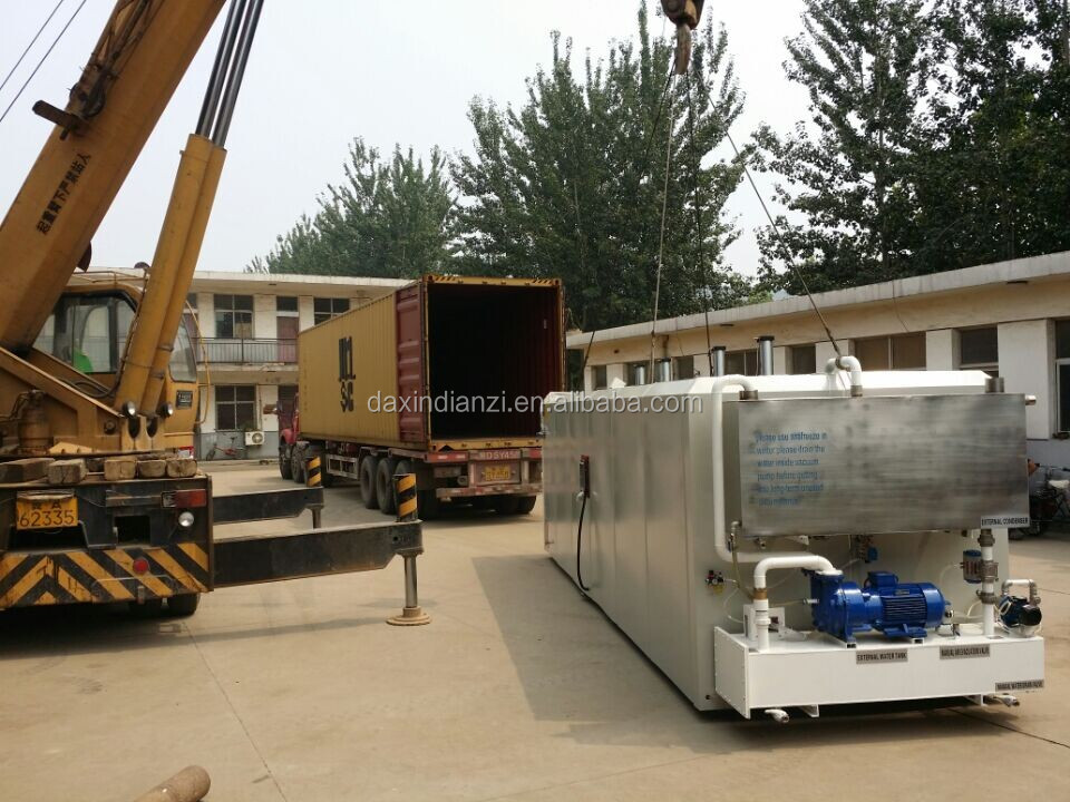 Woodworking Machinery with Various Capacity Easy Operation High frequency vacuum wood dryer mahcine for sale
