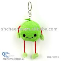 Plush fruit keychain,stuffed fruit keychain,keychain