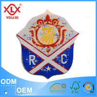 2015 new design garment woven patches