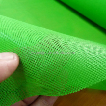 green plastic coating mesh vinyl tarps