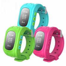 Kid Smart Watch Q50 GPS Location SOS Call Safe Wristwatch Tracker Watch for Kid Child