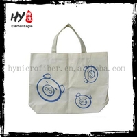 Brand new woven bags, rabbit recycled shopping bag, promotional cheap logo bags made in China