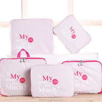 5 PCS Clothes Underwear Socks Packing Cube Storage Bag Travel Accessories For Suitcase Luggage Organizer Home Closet Organizador