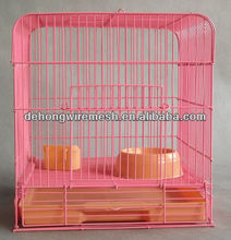 pvc coated good rabbit cage ISO9001