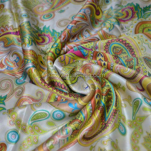 23mm stretch silk satin fabric