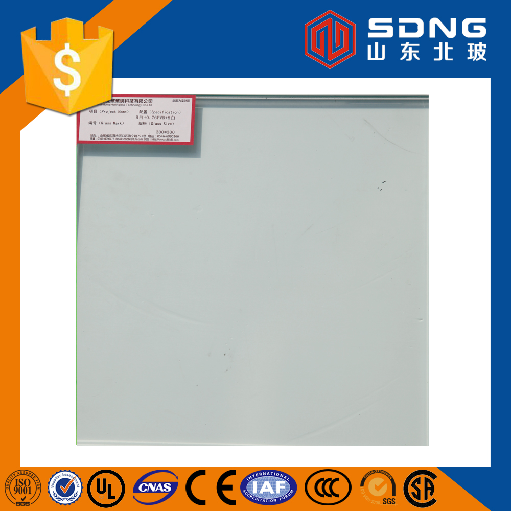 safety Laminated glass /tempered laminated glass for building