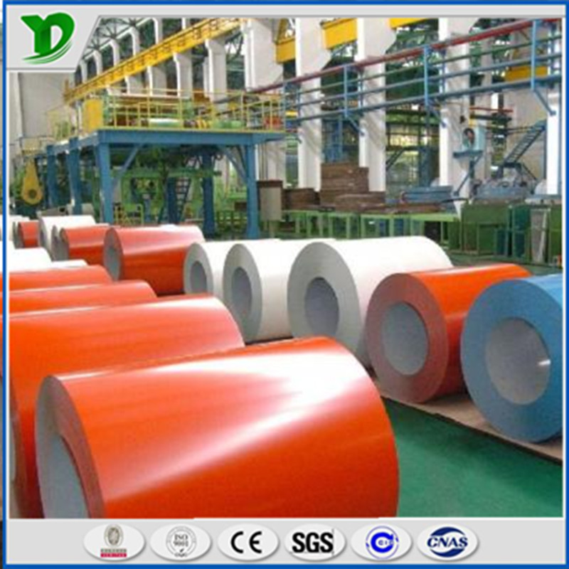 Cold Rolled Prepainted Color Coated Galvanized Steel Coil / Sheet Made In China