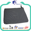 wellpromotion neoprene zipper case with dot pattern imprint