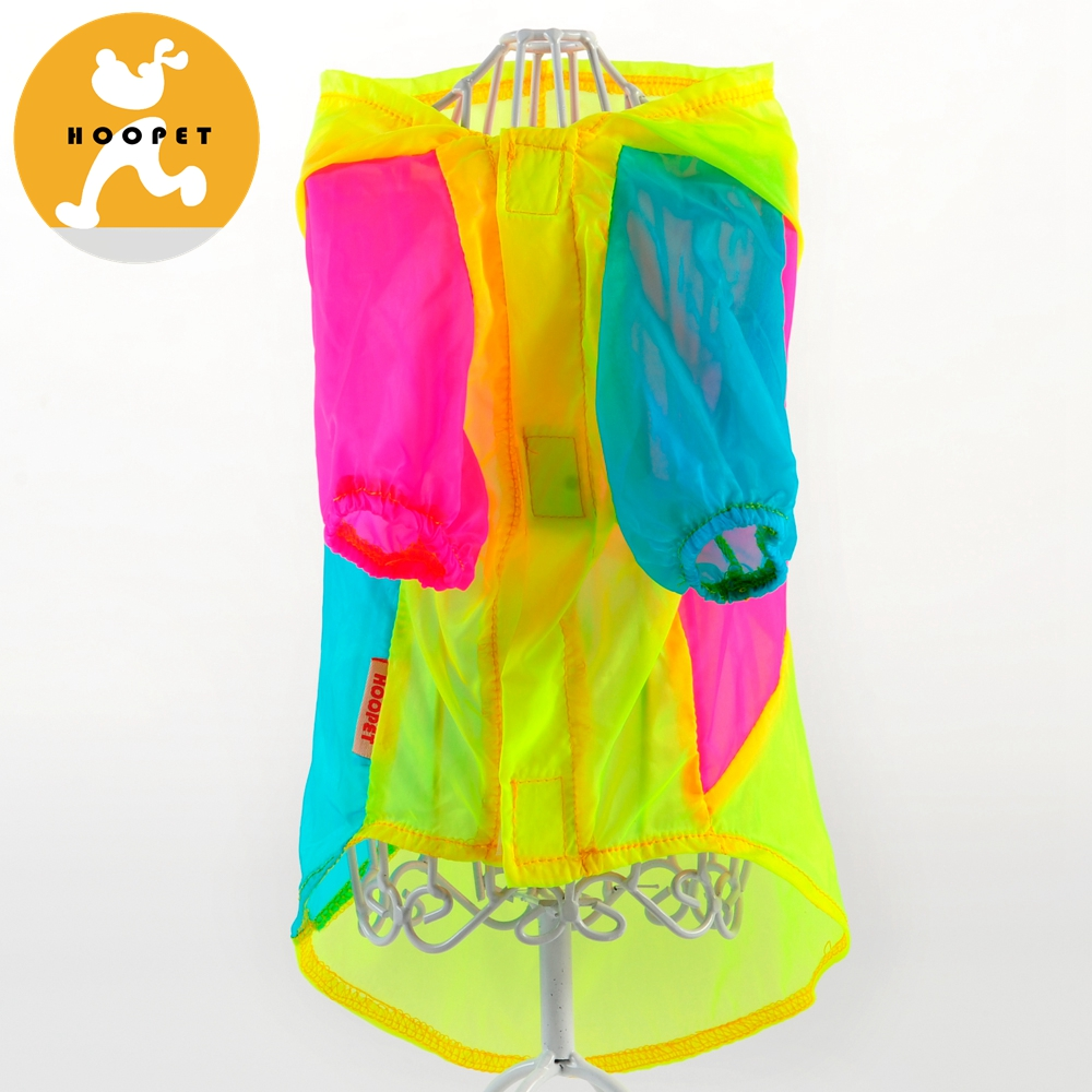 Bright Color UV Resistant Pet Clothes Fine Pet Products Pet Dog Apparel Wholesale
