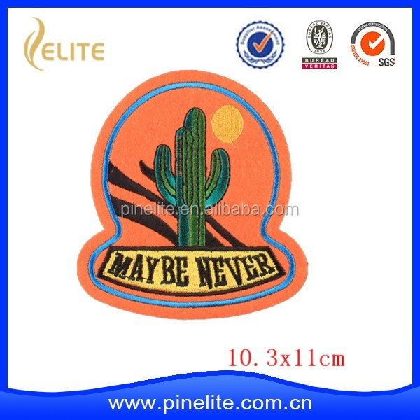 Promotional gifts car shaped embroidery patches