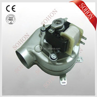 exhaust blower fan for wall hung gas boiler