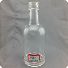 375ml Competitive price customized alcohol packaging bottle for whisky