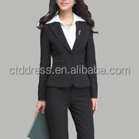 2014 new design office uniforms for ladies suits