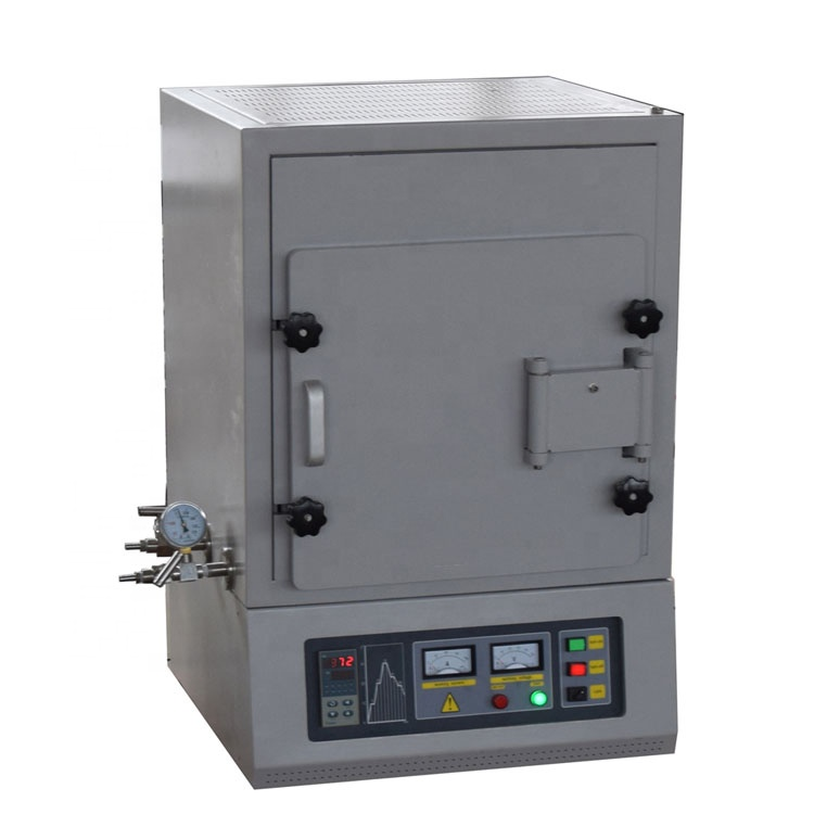 Compact 1600C atmosphere muffle furnace with water cooling system