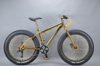 Luxurious 18K 26 inch fat bike freestyle bmx bike cheap bmx bike