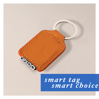 13.56MHZ smart leather/ABS key fob NFC tag/ sticker nfc tag