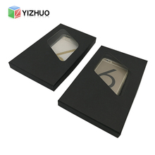 Black Mobile Phone Case Different Types Packaging Box