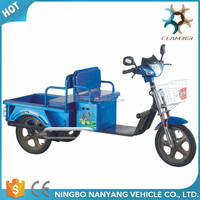 Lengthen electric cargo tricycle motorcycle for older