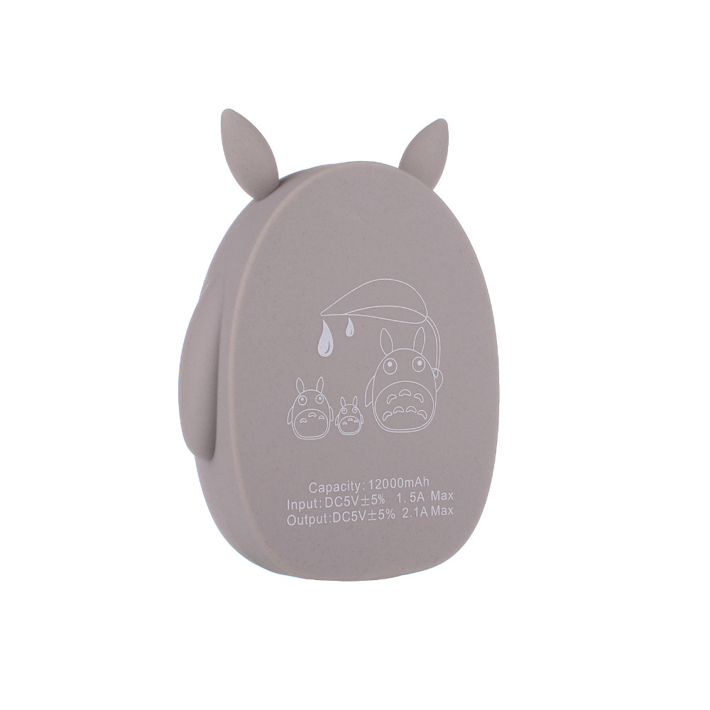 2016 hot sale new items universal external totoro power bank for cell phone