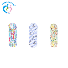 Women Reusable and Washable Cloth Sanitary Pads Wholesale Sanitary Supplier in China