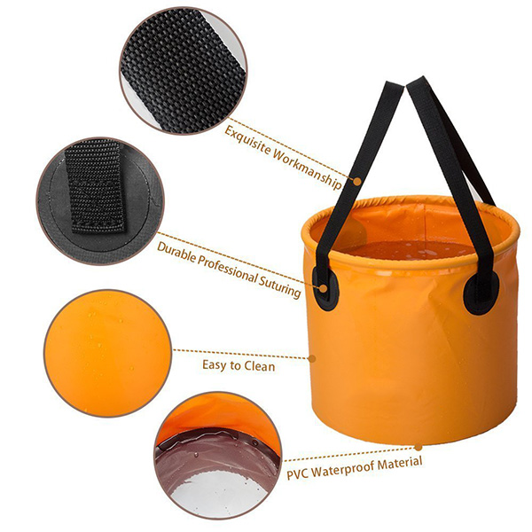 Hot Selling Amazon Factory Customize Outdoor Folding Bucket