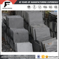Various sizes for selection cutting edge slate floor natural stone/irregular shaped stacked slate stone tiles