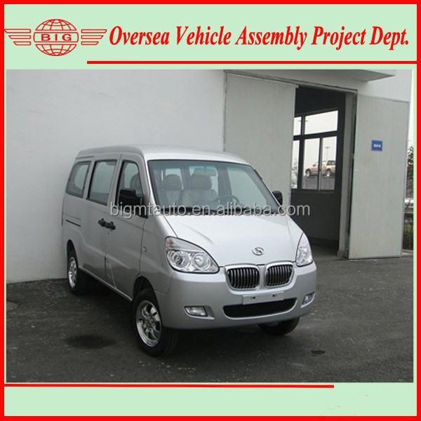 Euro IV Standard 8 Seats Gasoline Engine A/C Chana Mini Van