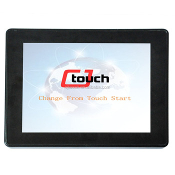 CJ touch 10.1inch Multi User Writing Simultaneously 10 Points touching Interactive Touch Screen