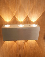 Aluminum Led wall Lamp with up and down lights