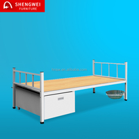 2017 easy assembly metal single bed wholesale bed frames single steel bed