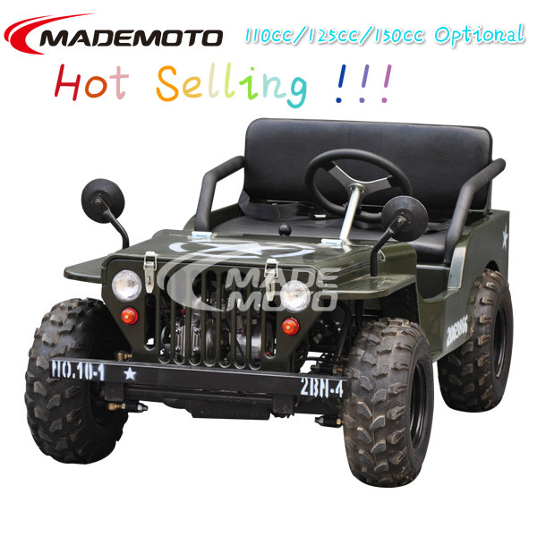 Big Discount Cheap 150cc Mini Jeep Go Kart for Sale with Off-Road tire