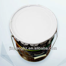 printed round industrial tin plate pail for sale