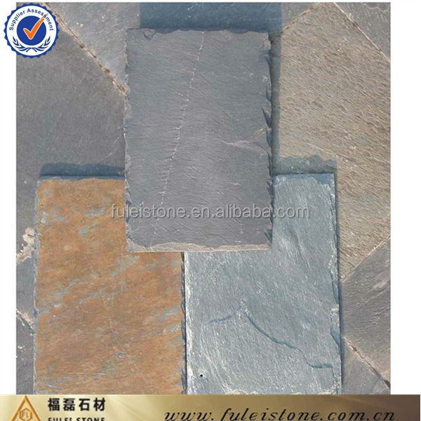 multi color roofing slate